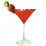 Strawberry Irish tini